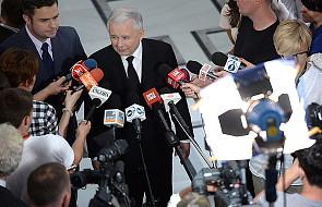 """Kaczyński: Tusk w Elblągu broni  """"starej kliki"""""""