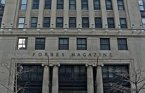 "Protestuje, bo ""Forbes"" źle go wycenił"