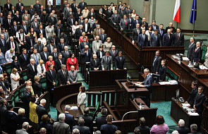 Sejm oddał hołd ofiarom zbrodni wołyńskiej