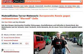 Obława na neonazistów z organizacji Werwolf