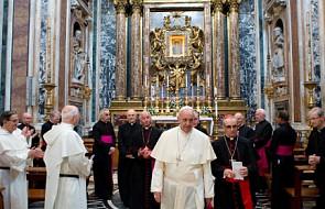 Papież Franciszek nieoczekiwanie w bazylice