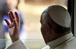 Papież zjadł obiad z uczestnikami ŚDM