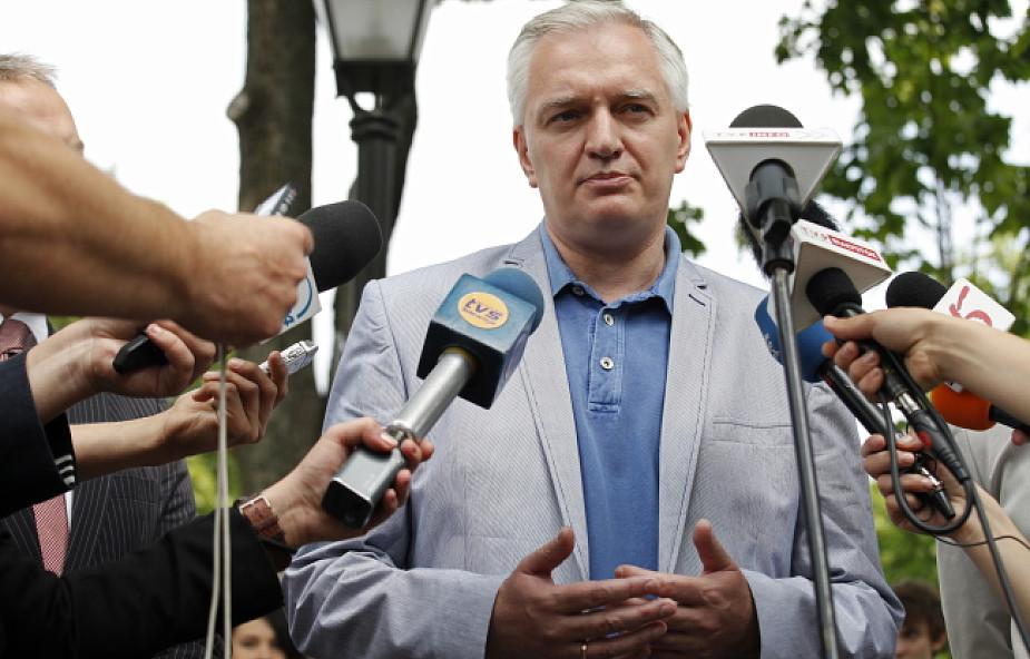 Gowin: Tusk unika spotkań z obywatelami