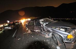 Włochy: 39 ofiar wypadku autokaru