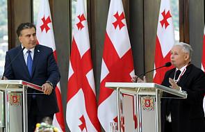 Prezes PiS Jarosław Kaczyński z wizytą w Gruzji