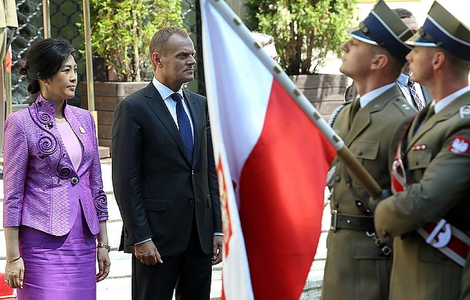 Tusk z premier Tajlandii o współpracy