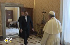 Prezydent Trynidadu i Tobago w Watykanie