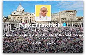 Papież Franciszek zupełnie podbił Twittera