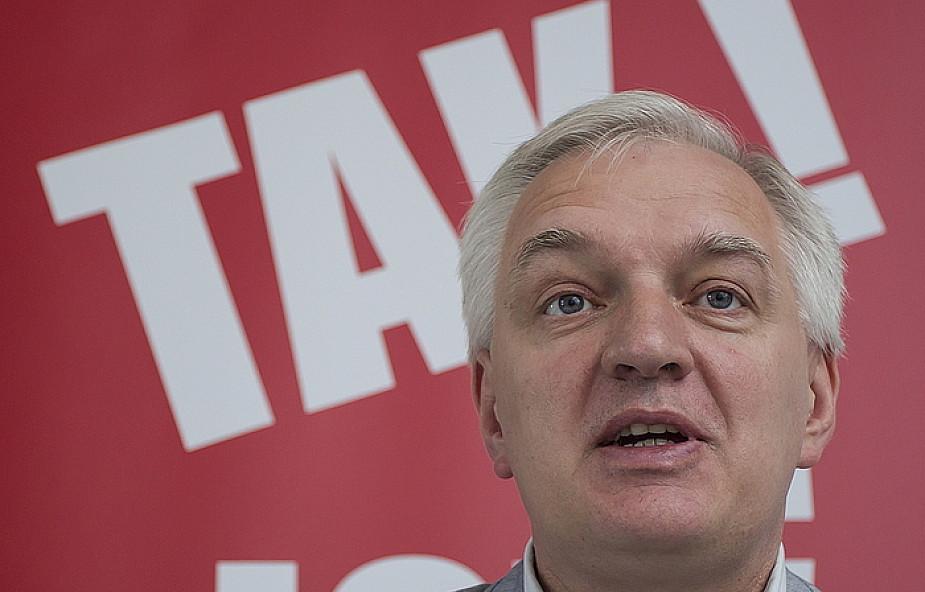 Jarosław Gowin popiera ideę JOW-ów