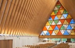 Nowa Zelandia: katedra z tektury