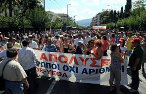 Na Akropolu protest przeciwko zwolnieniom