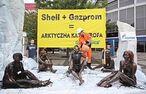 Happening Greenpeace w Warszawie