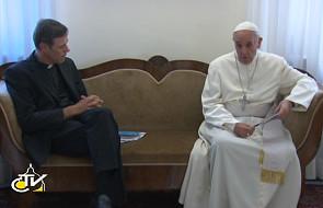 Franciszek wspomina kard. Martiniego