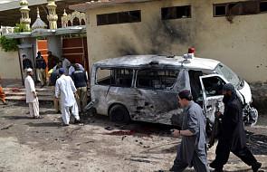 Pakistan: zamach na pogrzebie policjanta