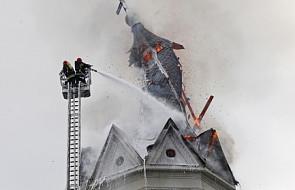 Pożar kościoła św. Wojciecha w Białymstoku