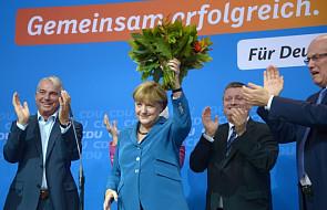 Merkel uznała wynik wyborów za wspaniały