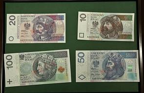 NBP: nowe zabezpieczenia na banknotach