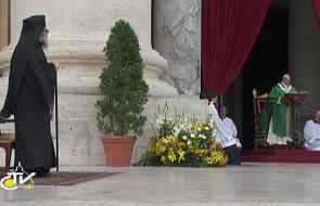 Franciszek: kontynuujmy modlitwę o pokój