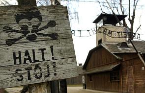 Przedstawiciele Knesetu w Auschwitz