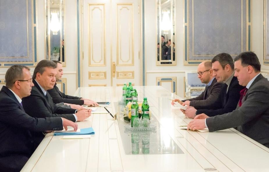 Oferta Janukowycza odrzucona przez opozycję