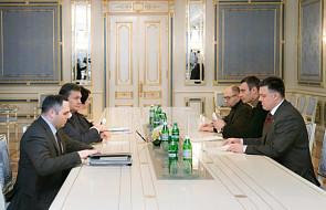 Ukraina: Janukowycz spotyka się z opozycją