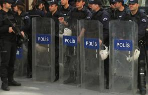 350 policjantów zwolnionych w stolicy Turcji