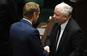Kaczyński o Tusku: życzę mu powodzenia