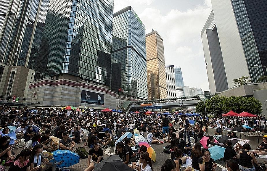 Hong Kong: okupacja budynków rządowych?