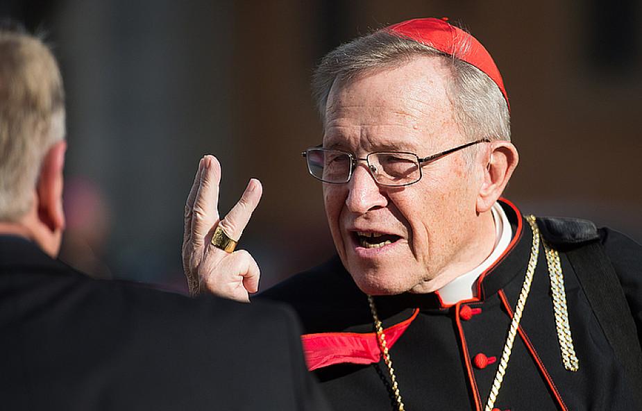 Kard. Kasper: większość biskupów mnie popiera