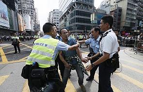 Bilans starć w Hongkongu: 20 rannych