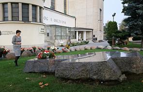 Ewa Kopacz złożyła kwiaty na grobie ks. Jerzego