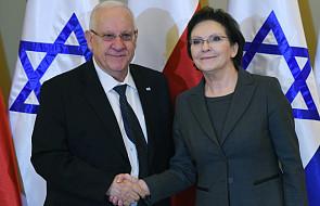 Premier spotkał się z prezydentem Izraela