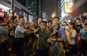 Hongkong: odłożono rozmowy z rządem
