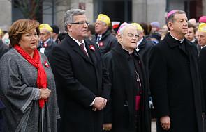 Warszawa: oddano hołd kard. Wyszyńskiemu