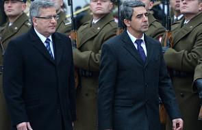 Prezydenci Polski i Bułgarii o Ukrainie