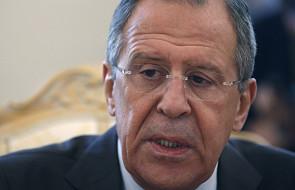 Ławrow: Zachód chce zmiany władz w Rosji