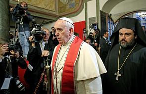 Franciszek w Konstantynopolu: pragnę komunii z Kościołami prawosławnymi