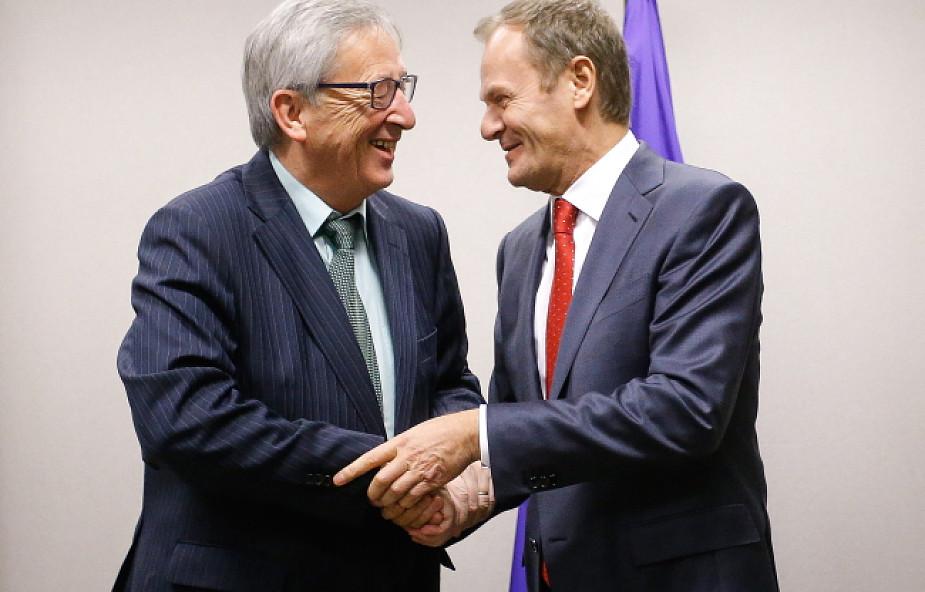 Tusk spotkał się z szefem Komisji Europejskiej