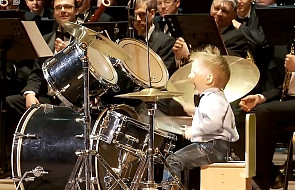 Najmłodszy perkusista świata