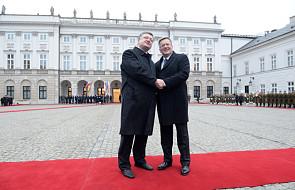 Poroszenko rozpoczął oficjalną wizytę w Polsce