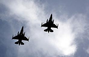 F-16 prawie zderzył się z rosyjskim myśliwcem