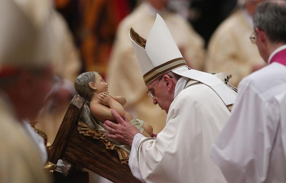 Pasterka z Franciszkiem o czułości Boga