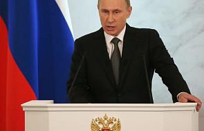 "Ukraina: krytyka ""religijnych odniesień"" Putina"