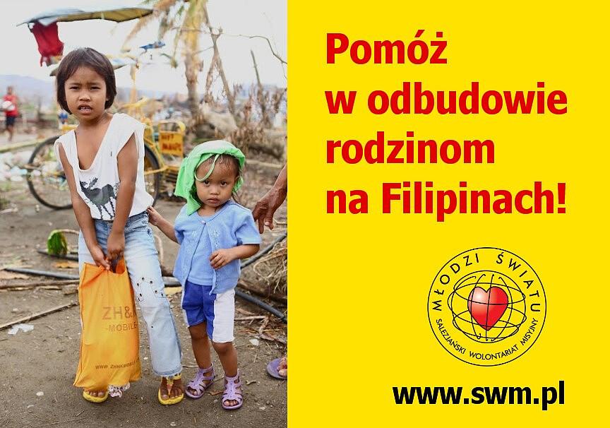 Salezjanie odbudowują zniszczone Filipiny - zdjęcie w treści artykułu