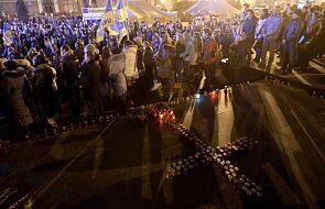 Ukraina: pożar we Lwowie objął skład amunicji
