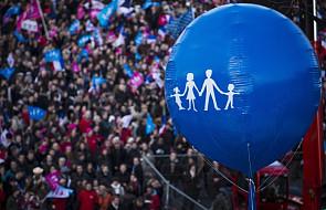 Francja: manifestacja w obronie rodziny