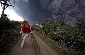 Indonezja:16 ofiar wybuchu wulkanu Sinabung