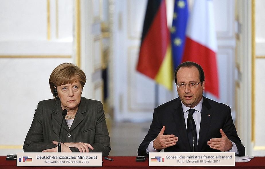 Merkel rozmawiała z Janukowyczem