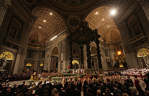 Celebracje Papieża w czasie Postu i Wielkanocy