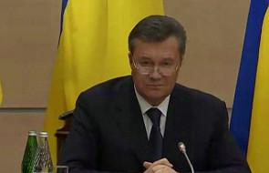 Janukowycz: będę walczył o przyszłość Ukrainy